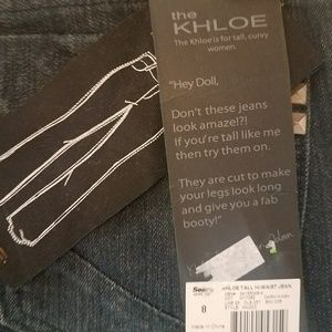 The Khloe jeans size 8